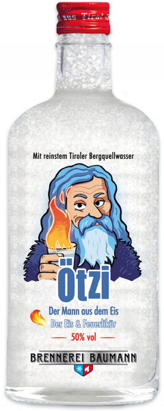 Ötzi Fire Liqueur from the Brennerei Baumann