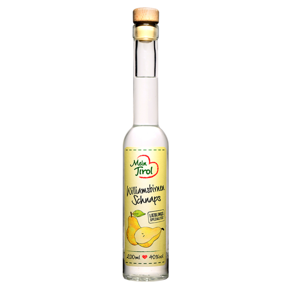Williams Pear Schnapps from Mein Tirol